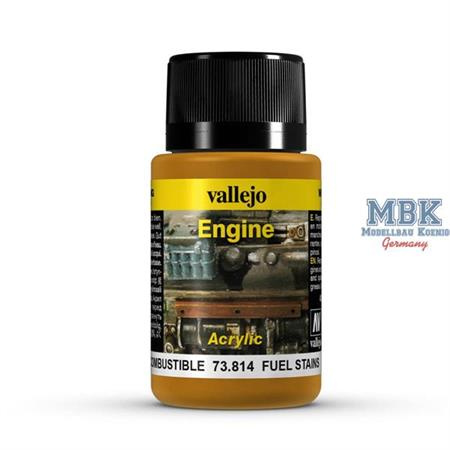 Weathering Effects Engine Fuel Stains