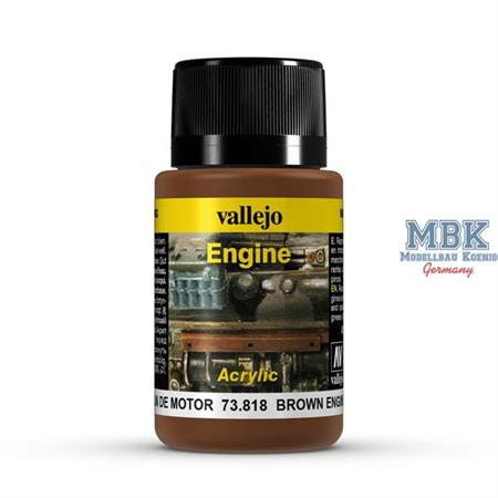 Weathering Effects Engine Brown Engine Soot