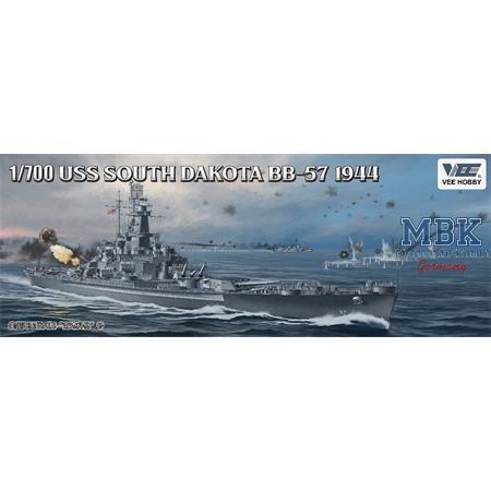 USS Battleship South Dakota BB-57 1944