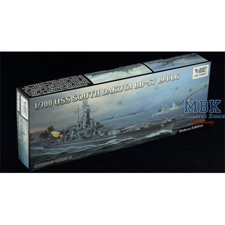 USS Battleship South Dakota BB-57 1944  Deluxe Ed.