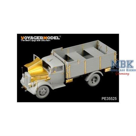 WWII German Opel Blitz 3t. 4x2 Cargo Truck