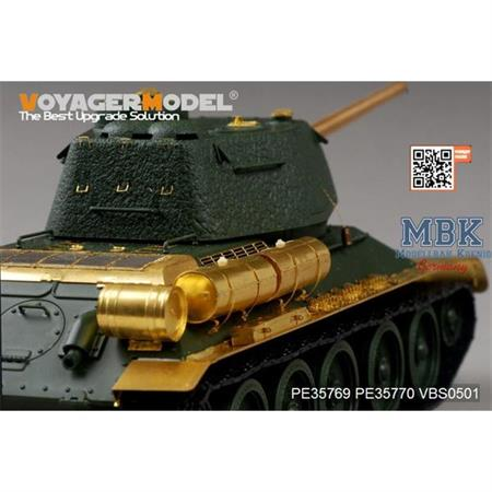 T-34/85 No.112 Factory Production Fende (Academy)
