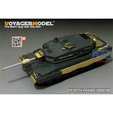 German Leopard 2A4 Basic (Meng TS-016)
