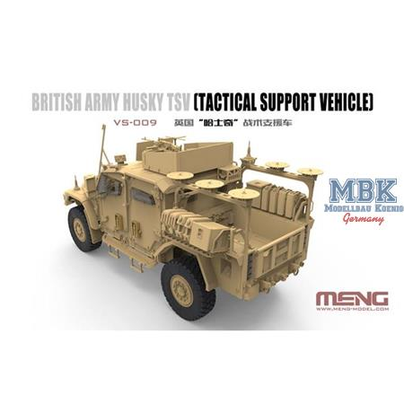 British Army HUSKY TSV (Tactical Support Vehicle)