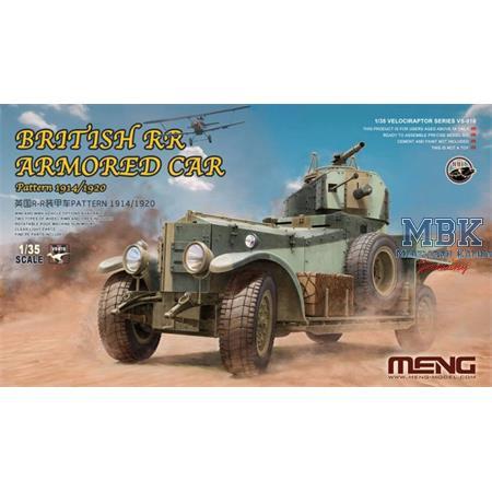 British Rolls-Royce Armoured Car 1914/1920