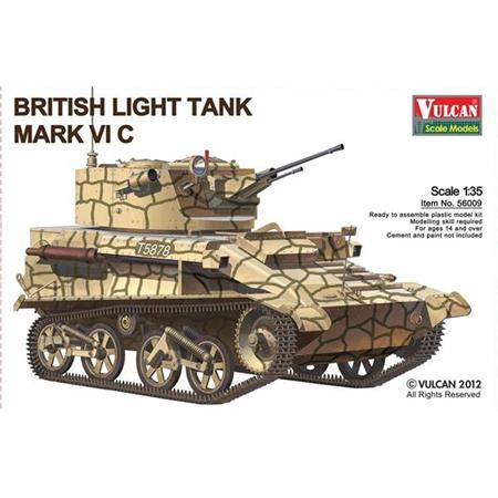 Brit. light tank Mk. VI C