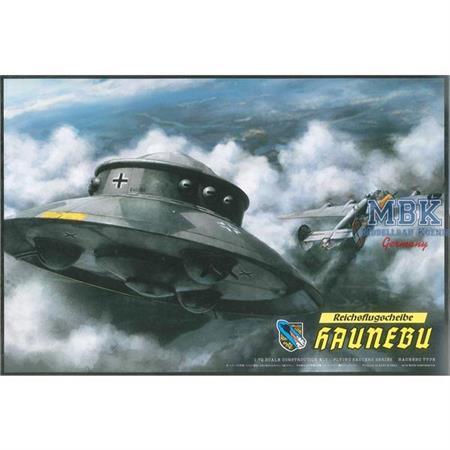 """Reichsflugscheibe """"Haunebu"""" Flying Saucer"""