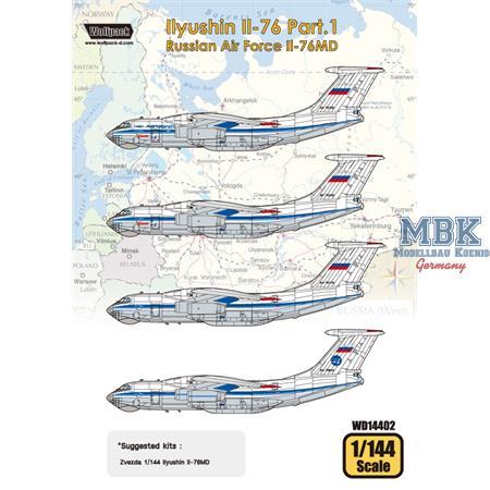 Ilyushin Il-76 Part.1 - Russian Air Force Il-76MD