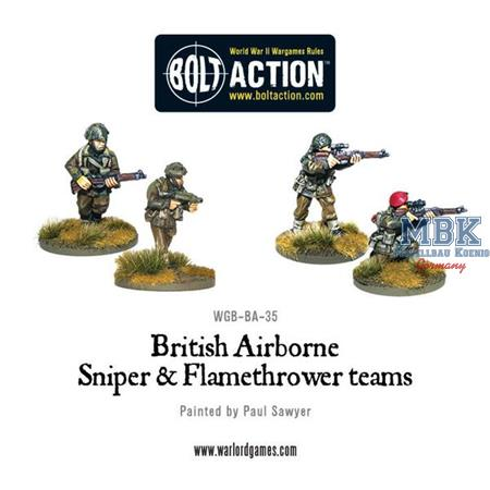 Bolt Action: British Airborne Flamethrower