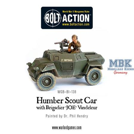 Bolt Action: Humber Scout Car