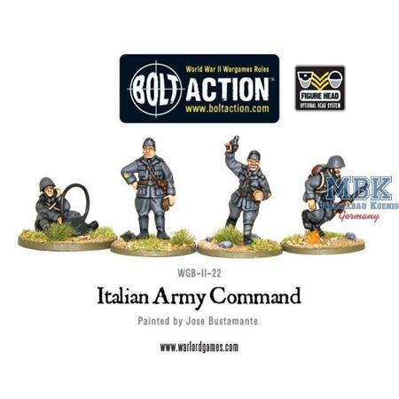 Bolt Action: Italian Army command
