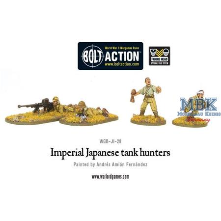 Bolt Action: Imperial Japanese tank hunters