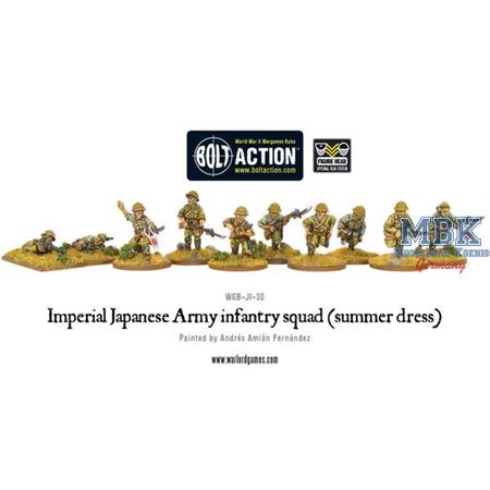 Bolt Action: Imperial Japanese Army infantry squad