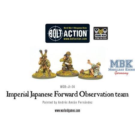 Bolt Action: Imperial  Japanese FOO team