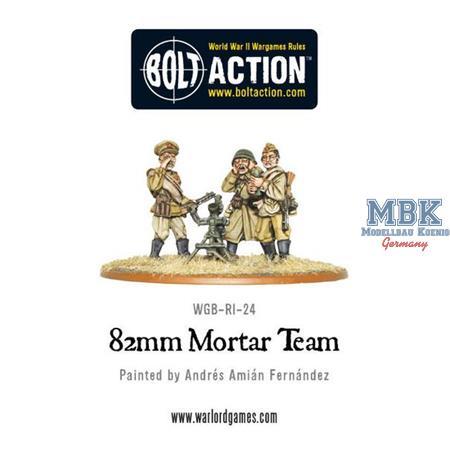 Bolt Action: Soviet 82mm Mortar Team