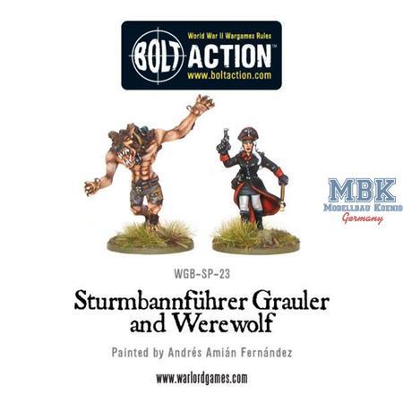 Bolt Action: Sturmbannführer Grauler and Werewolf