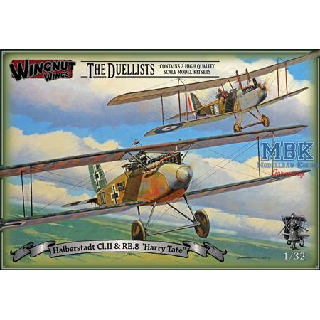 "Halberstadt Cl.II & RE.8 ""Harry Tate"" Duellists"