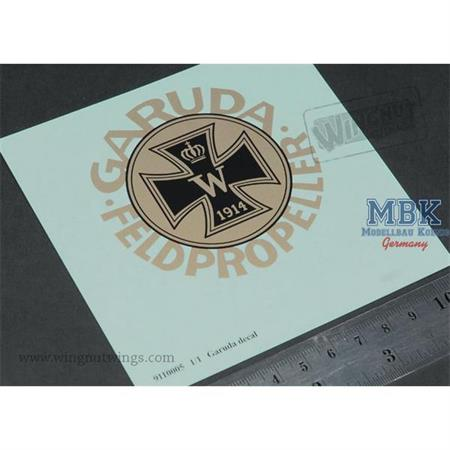 Full scale Garuda propeller decal