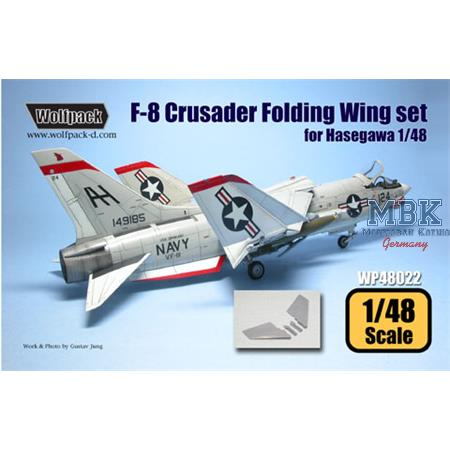 F-8 Crusader Folding wing set