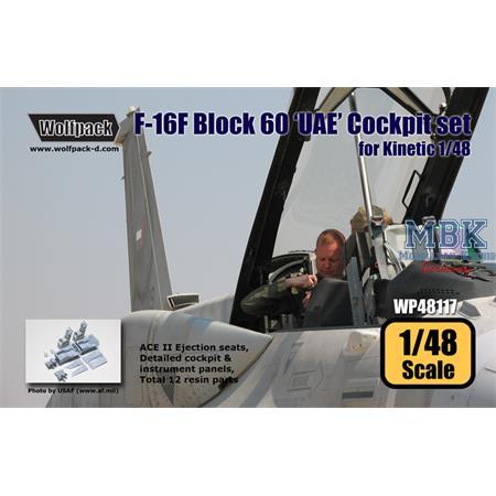F-16F Block 60 'UAE' Cockpit set