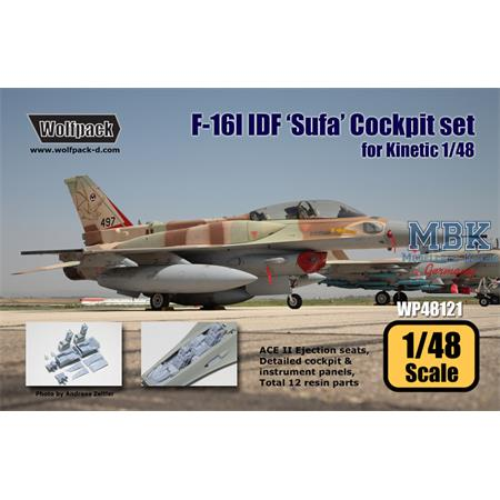 F-16I IDF 'Sufa' Cockpit set