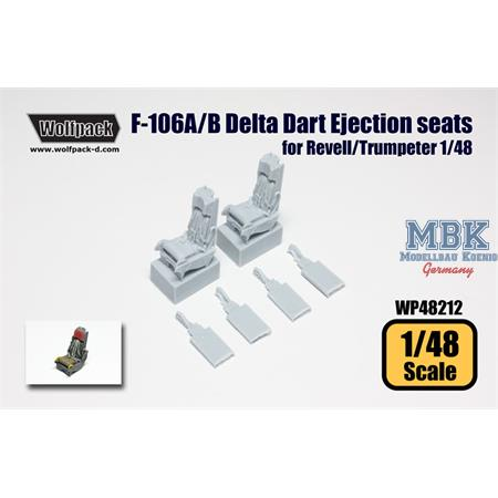 F-106A/B Delta Dart Ejection seat set