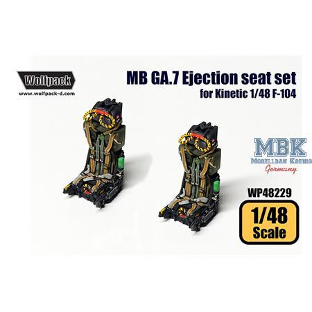 Martin Baker GA.7 Ejection seat set
