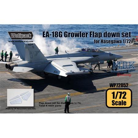 EA-18G Growler Flap down set