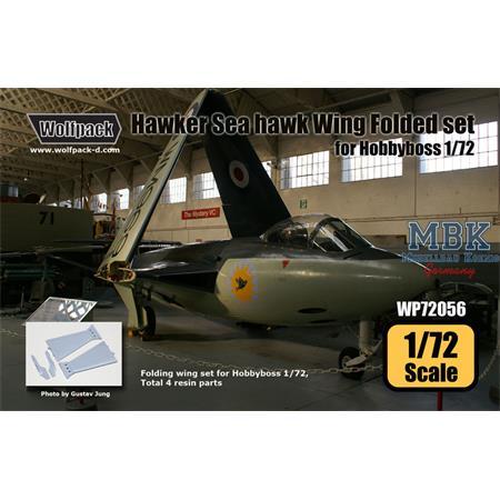 Hawker Sea Hawk Wing Folded set