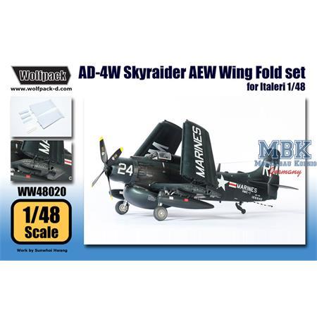 AD-4W Skyraider AEW Wing Fold set