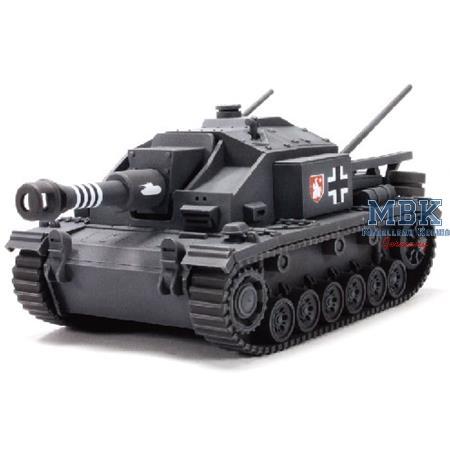 World of Q Tank Series Sturmgeschütz III Ausf. F