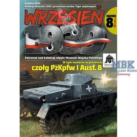 Wrzesien 1939 Ausgabe 8 (inkl. Modell Panzer I B)