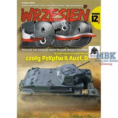 Wrzesien 1939 Ausgabe 12 (inkl. Modell Pz.II D)