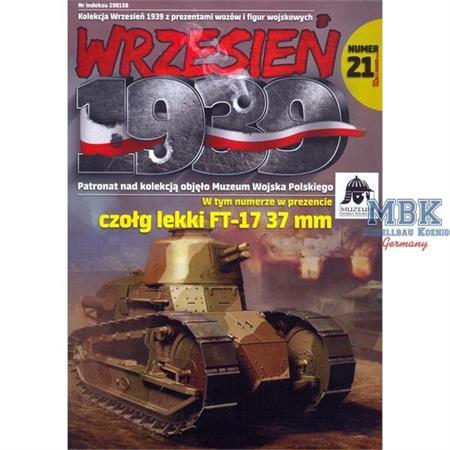 Wrzesien 1939 Ausgabe 21 (inkl. Modell FT-17)