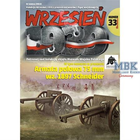 Wrzesien 1939 Ausgabe 33 (inkl. 75mm Schneider)