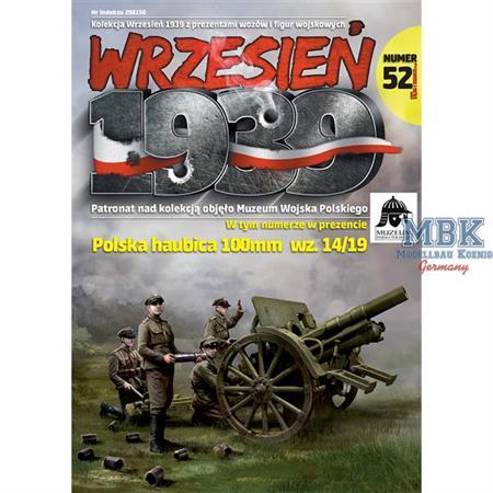 Wrzesien 1939 Ausgabe 52 (inkl.poln.100mm wz14/19)
