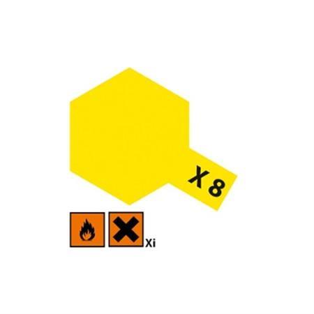 X8 Zitronen gelb