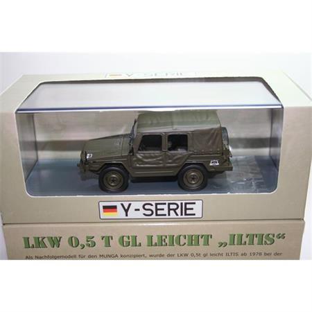 """VW truck 0,5t GL """"Iltis"""" offen"""