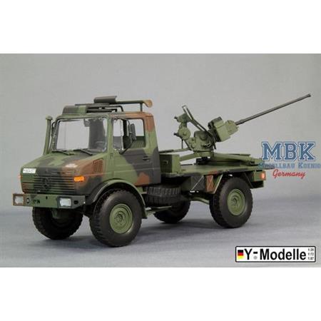 Bw 20mm FK20-2 auf Unimog ohne Pritschenwände