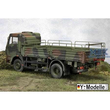 LKW DB 1017-A, Pritsche