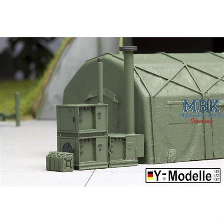 Klimageräte für luftgestütze Zelte