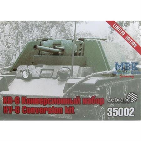 KV-6 SPG coversion kit