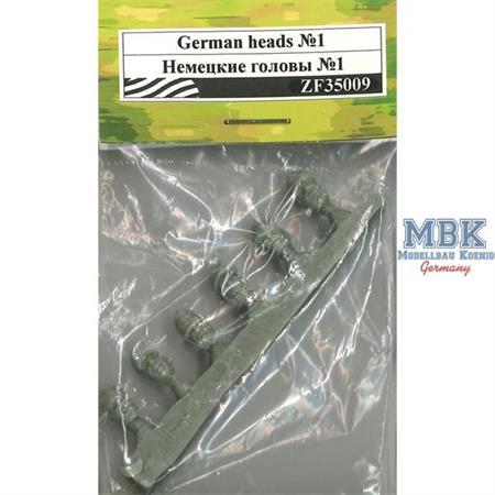 German Heads Set #1