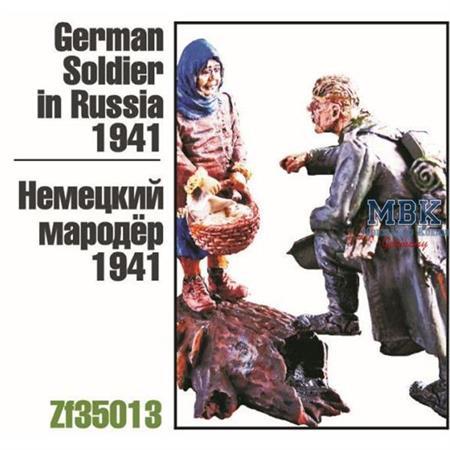 German Soldier in Russia, 1941 (2 Figuren)
