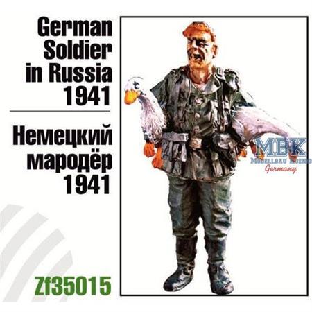 German Soldier in Russia, 1941