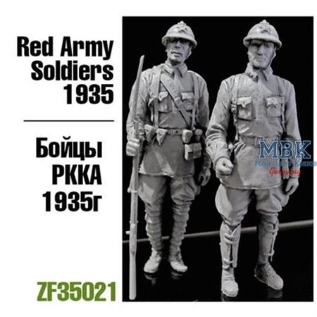 Red Army Soldiers, 1935 (2 Figuren)