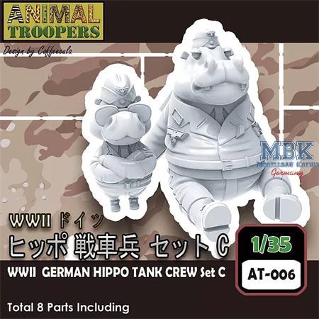 German Hippo  Tank Crew Set C  1/35