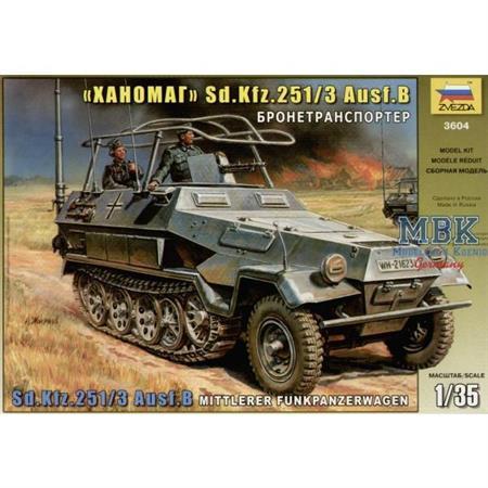 Sd.Kfz. 251/3 Ausf. B Mittlerer Funkpanzerwagen