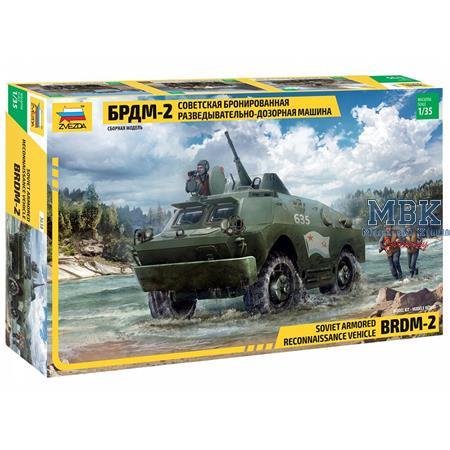BRDM-2  Soviet Armoured Recon. Vehicle