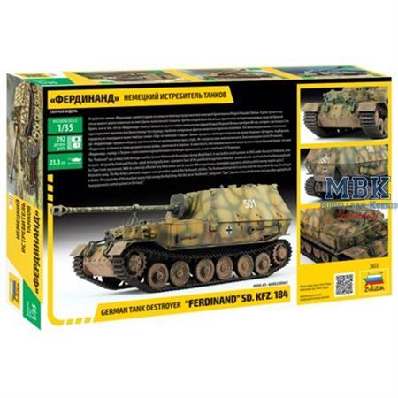 """Sd Kfz 184 """"Ferdinand"""" Tiger"""